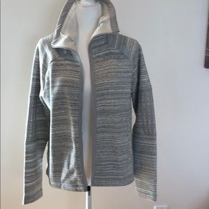 NWT adidas fleece zip.